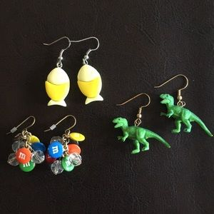 Quirky earrings collection